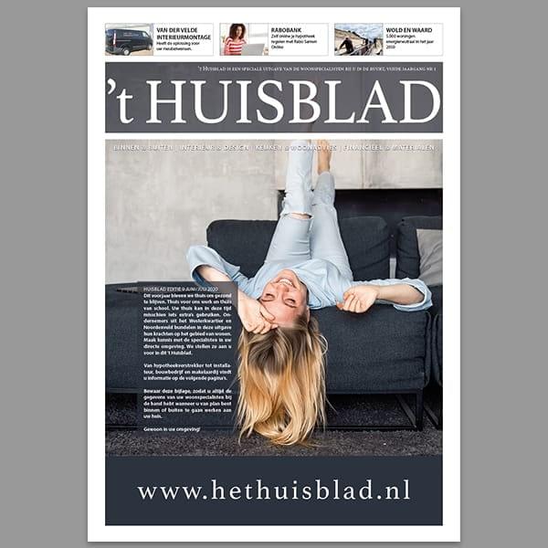 't Huisblad - Reclamebureau RAM - krant