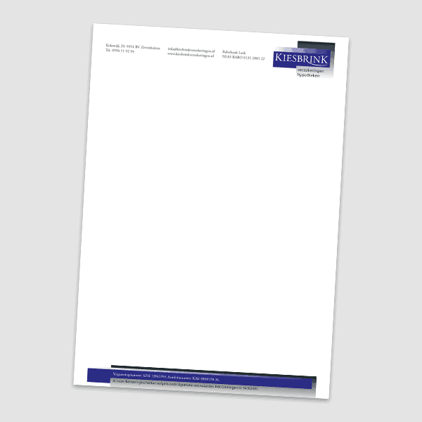 Reclamebureau RAM - Vormgeving - folder 3 luik