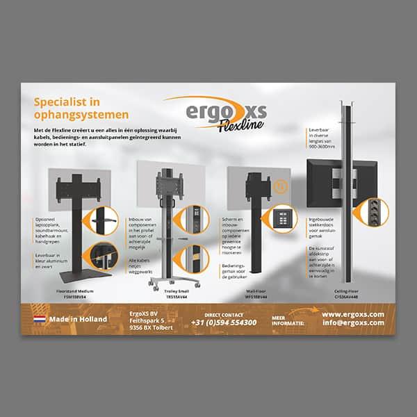 ErgoXS - klant Reclamebureau RAM - advertentie