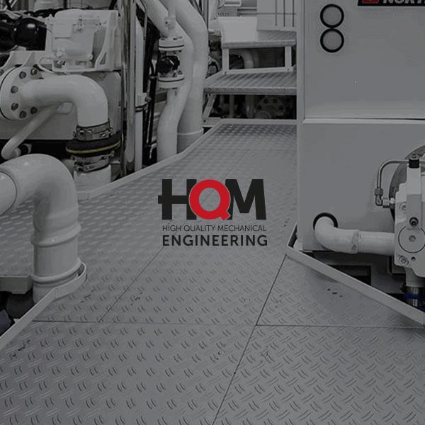 HQM Engineering - Klant Reclamebureau RAM - ontwerp logo